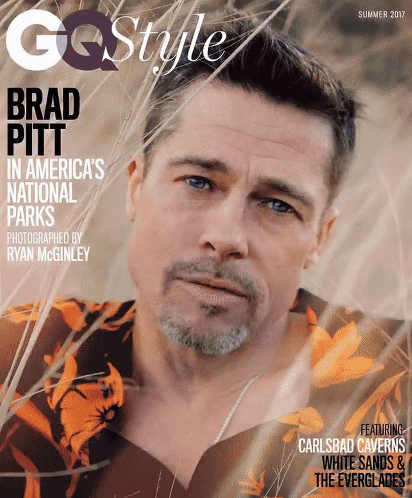 Actores Estadounidenses Hablando Español brad pitt para gq style magazine summer 2017 por ryan