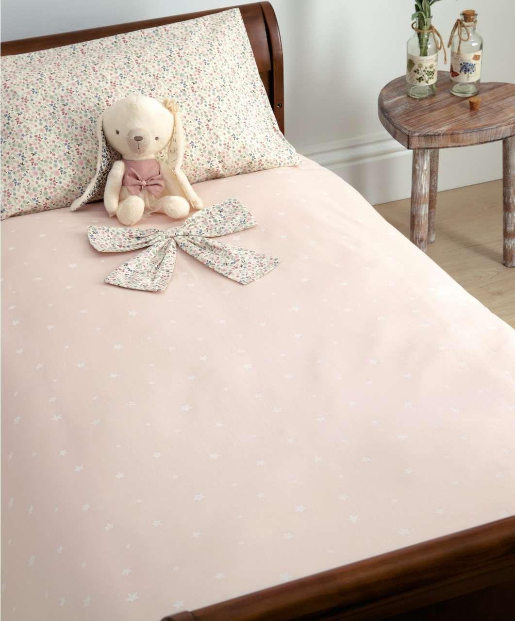 Cot Bed Duvet Cover And Pillow Case Set Millie Amp Boris