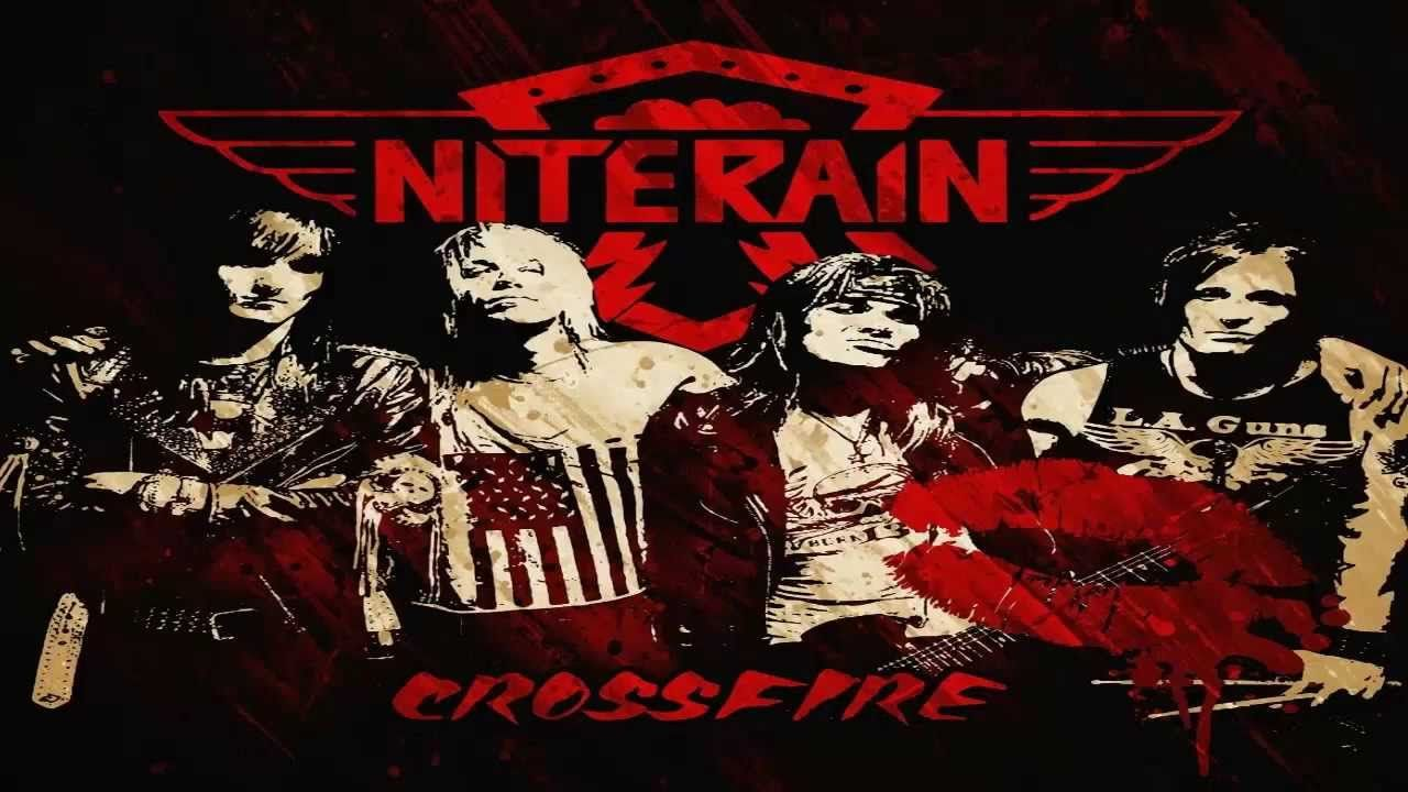 NiteRain Bad Girl Hard rock, Comic book cover, Crossfire