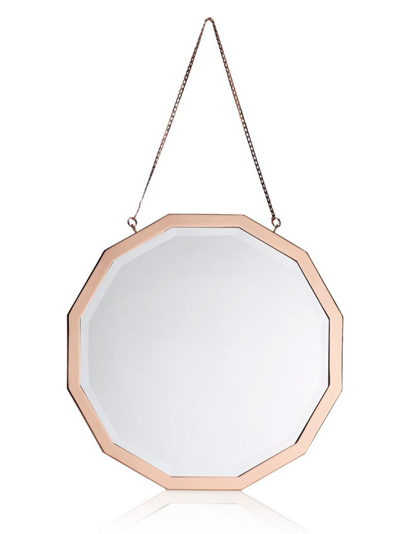 Dodecagon Mirror | M&S £79 | Bedroom inspiration | Pinterest ...