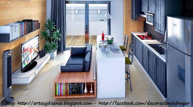 Muebles funcionales para espacios peque os by - Muebles funcionales para espacios reducidos ...