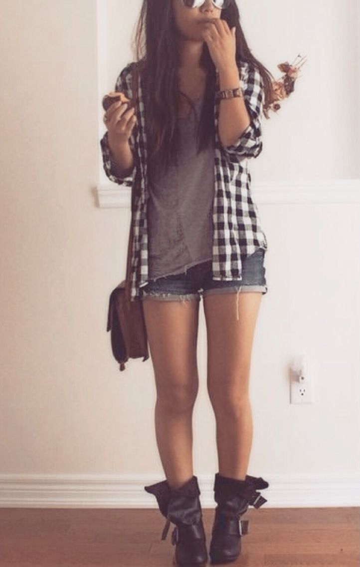 Grunge flannel outfits  Pin by Trini Toledo on My style  Pinterest  Clothes Dream closets