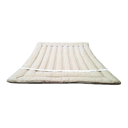 Organic Wool Mattress Topper  #mattresses #mattresstopper