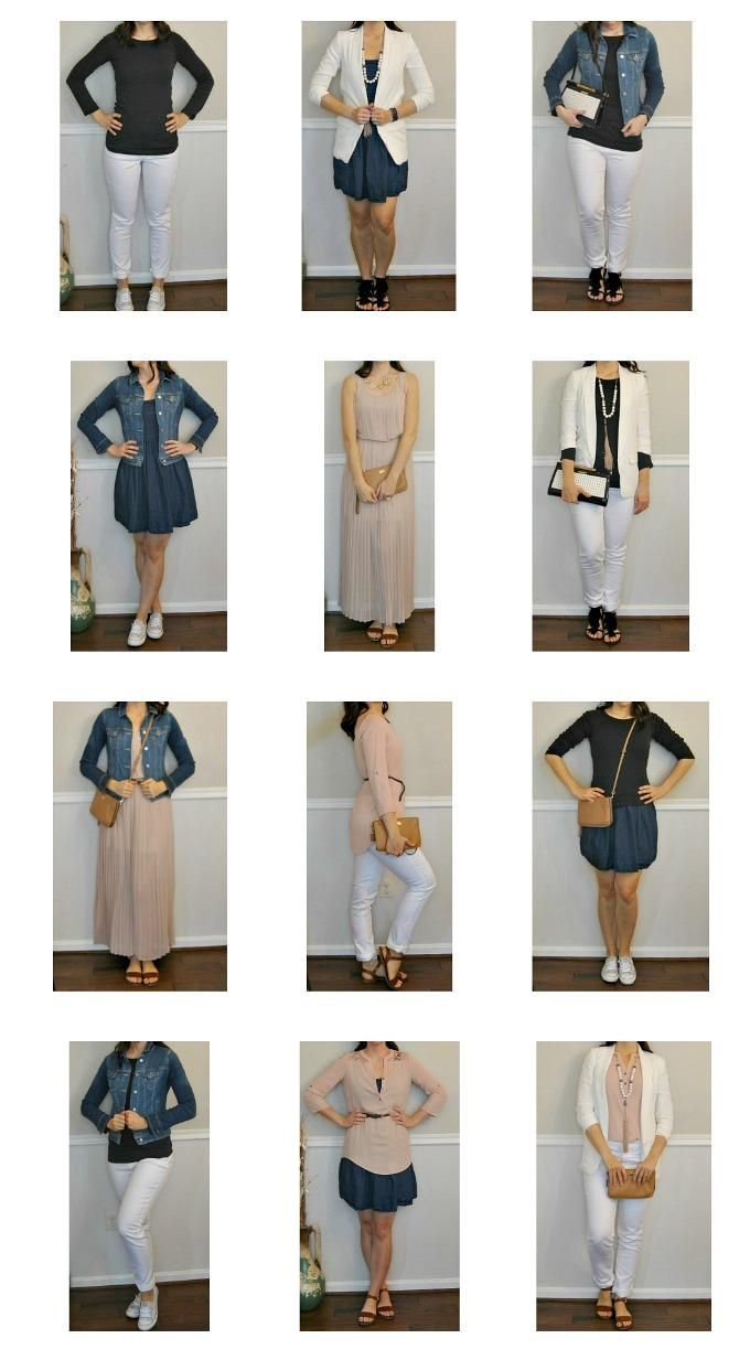 Reduce Your Wardrobe To Only 10 Items And Change Your Life Capsule Wardrobe Mom 10 Item Wardrobe Spring Capsule Wardrobe