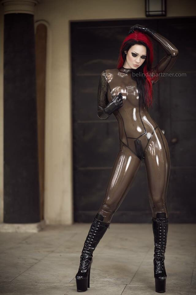 Starfucked Latex Rubber Fetish Model Hclips 1