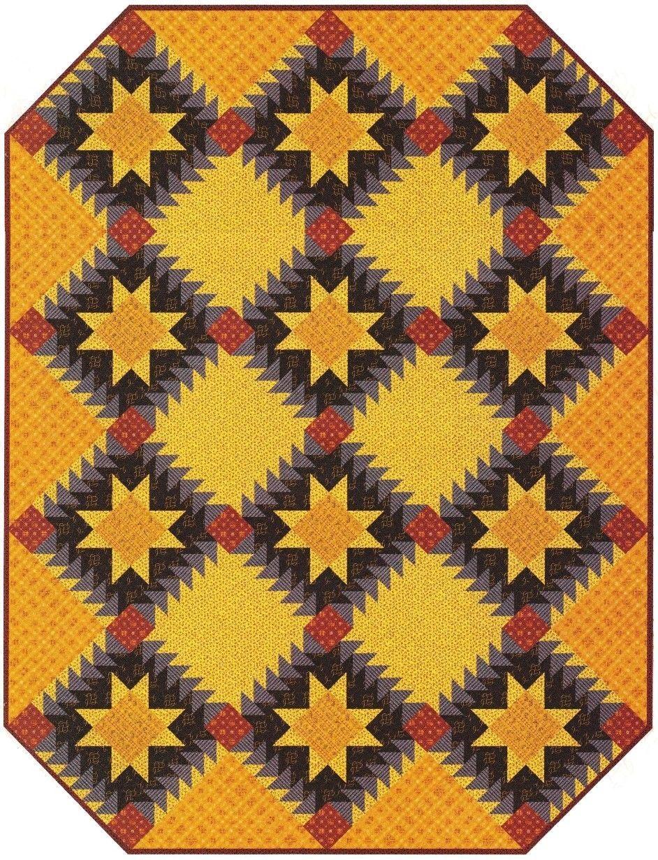 Quilt PATTERN ~ Jamestown ~ Quilting Pattern from Magazine ...