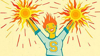 Want to become a spirit-lifting, mood-elevating, cheer-engineering dynamo? Martha Beck maintains that brightening someone else's day requires far less effort than you'd think.