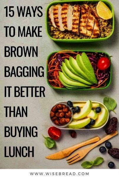 to Make Brown Bagging It Better Than Buying Lunch By taking your home packed lunches, you can save