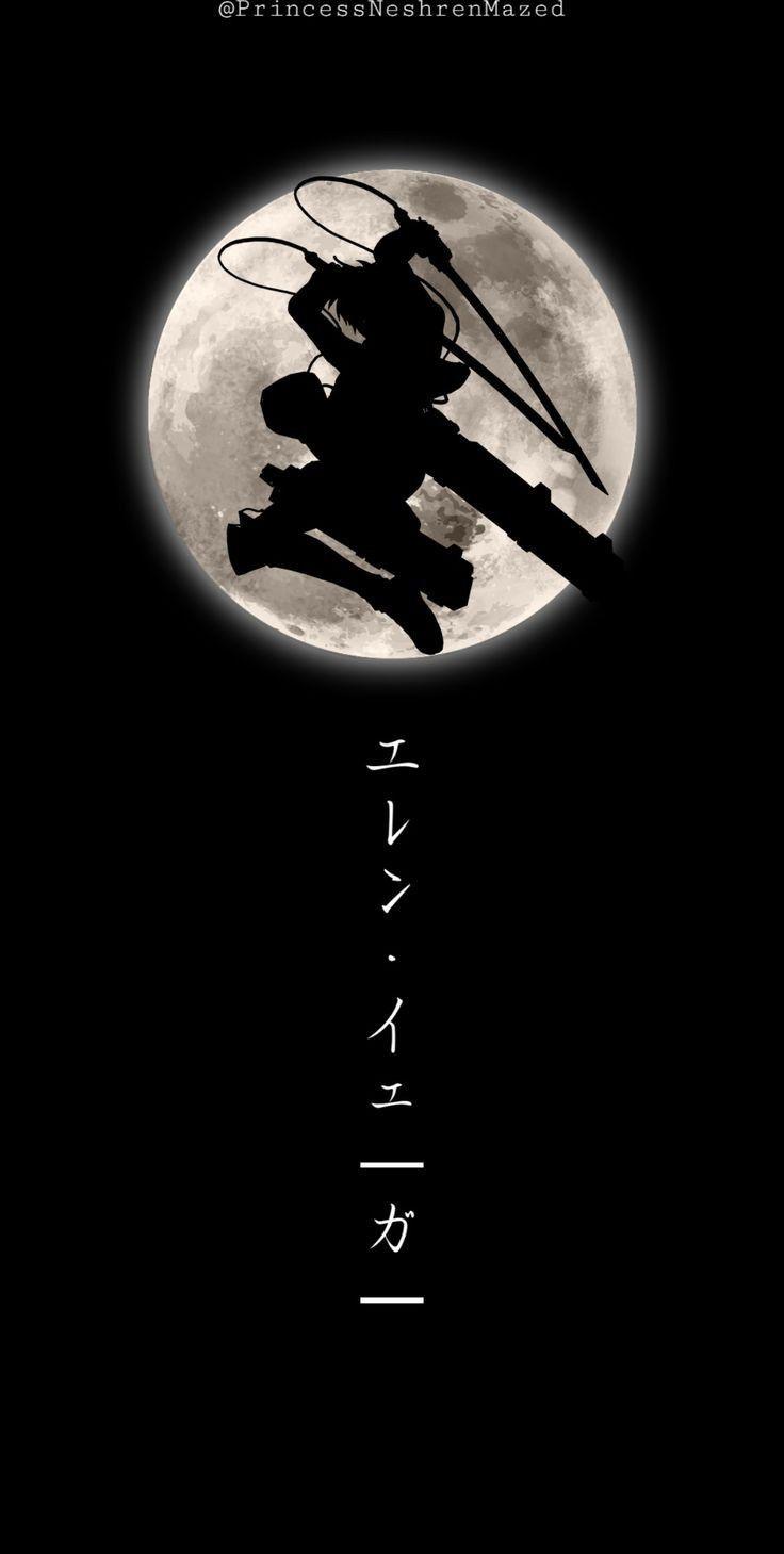 خلفيات انمي هجوم العمالقه Seni Anime Seni Jepang Lukisan Jepang