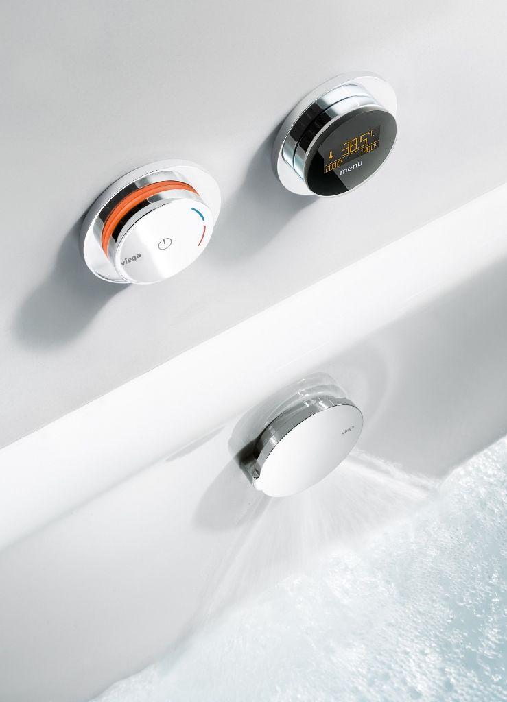 #Viega. Automatic bath filling