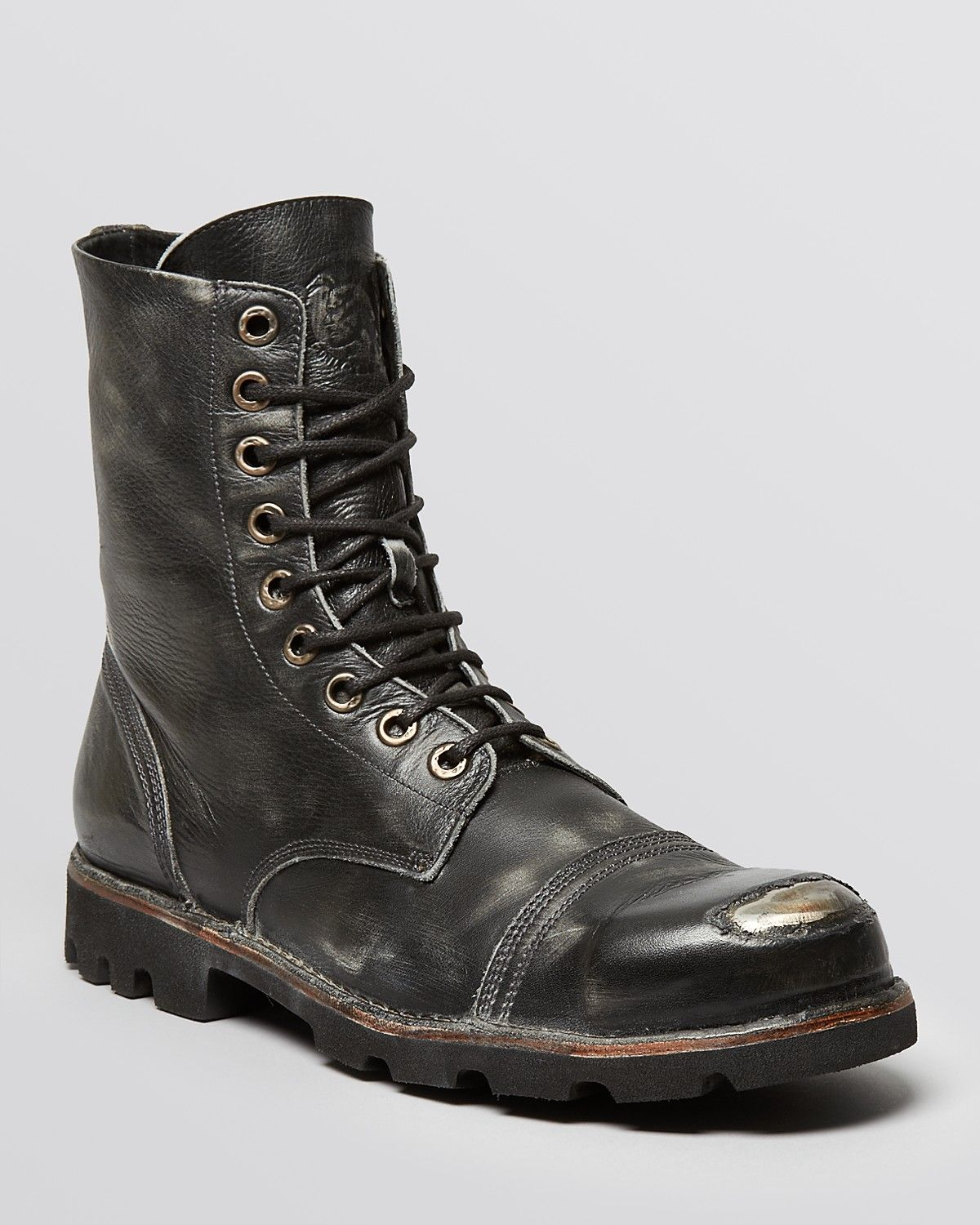 b7732f57720 Diesel Hardkor Steel Lace-Up Boots | wearables in 2019 | Boots, Mens ...