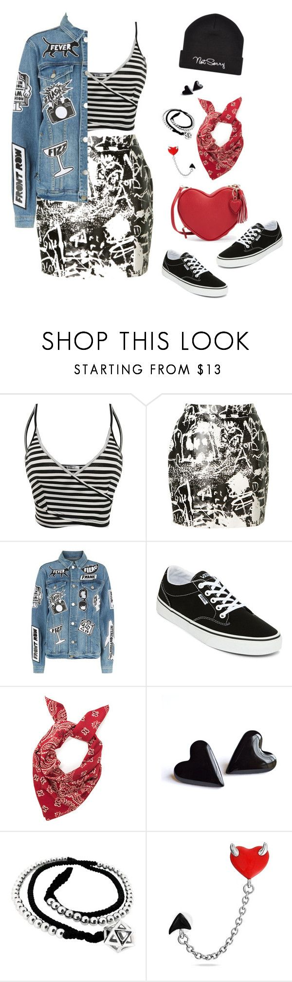 """""""Sk8r Grl"""" by km-r7 ❤ liked on Polyvore featuring Yves Saint Laurent, Frame, Vans, John Brevard and Bling Jewelry"""