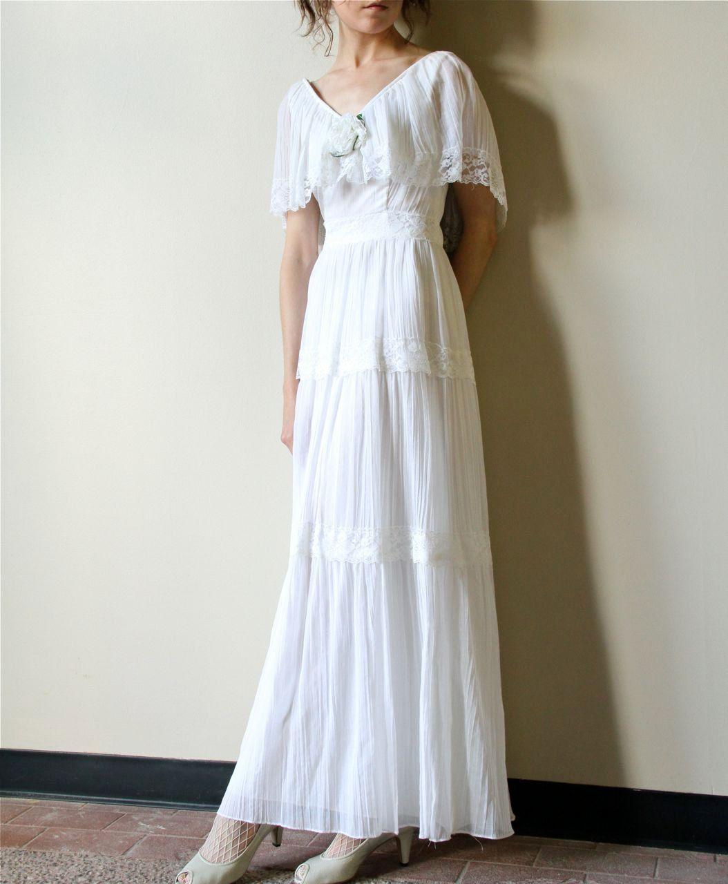22++ White boho maxi wedding dress ideas