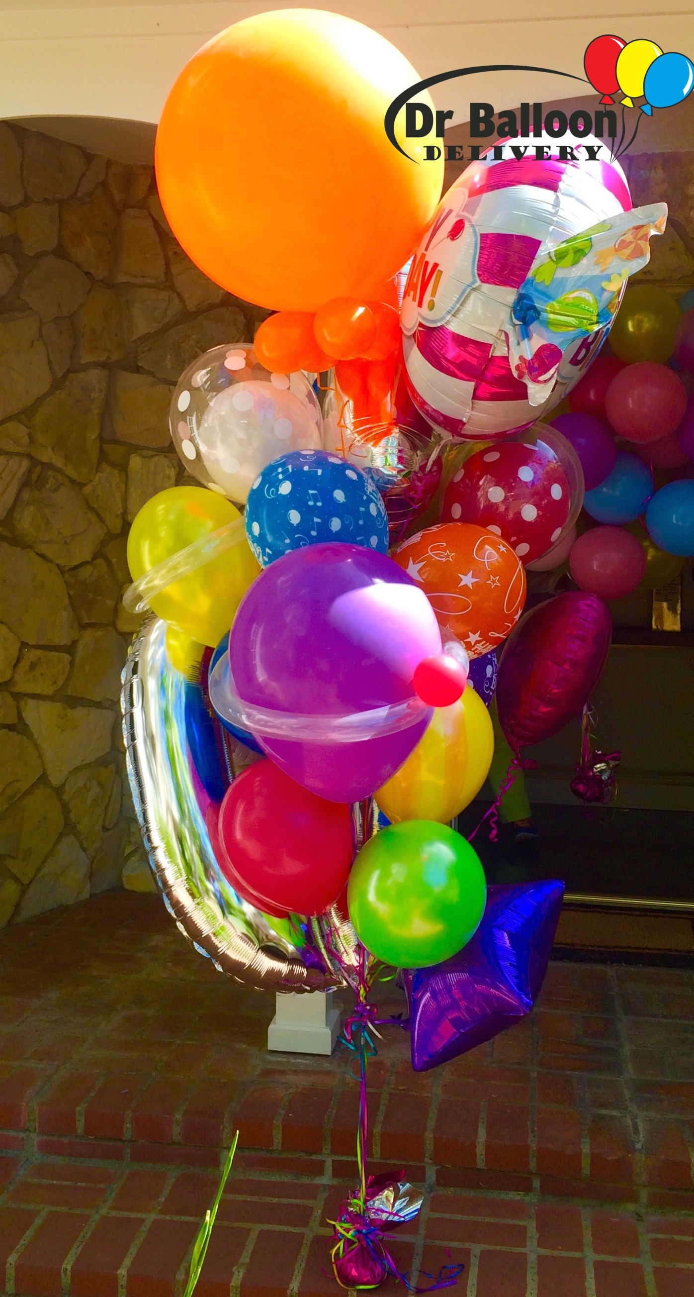 Balloons And More Balloon Delivery Birthday Bouquet Love