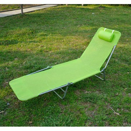 Outsunny Outdoor Folding Chaise Lounge Sun Recliner Chair