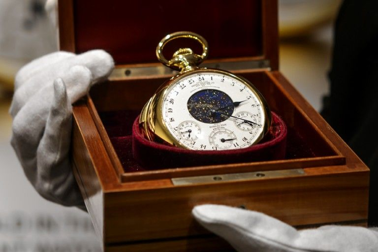 This stunning Patek Philippe gold watch is the world's most expensive timepiece. Guess how much it fetched at the recent Magnificent Jewels sale by Sotheby's in Geneva?