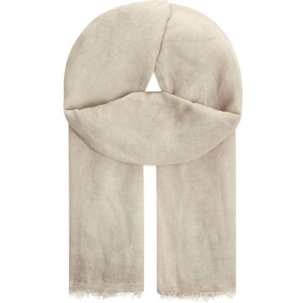 FALIERO SARTI Tobia silk-blend scarf (£135) ❤ liked on Polyvore featuring accessories, scarves, green, faliero sarti scarves, faliero sarti, green scarves and green shawl