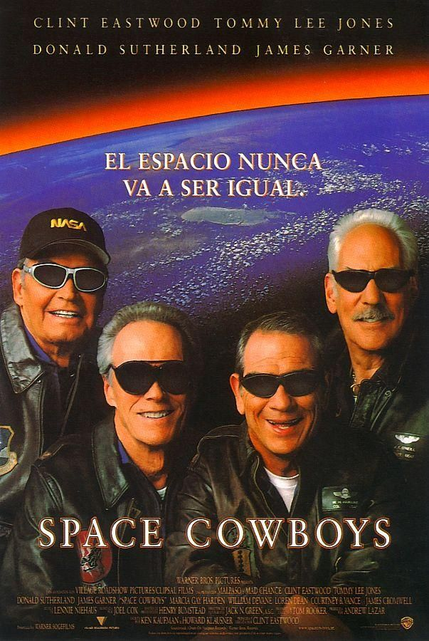 Space Cowboys 2000 Music, Movies, Clint