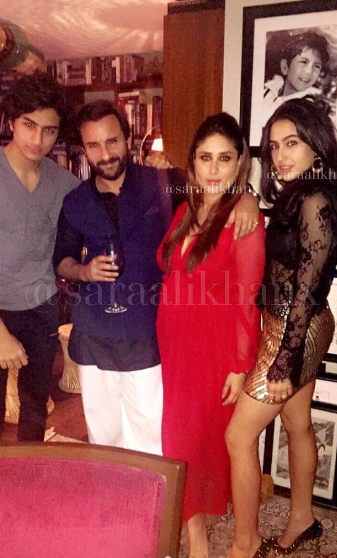 This Pic Of Kareena With Kids Ibrahim And Sara Is Too Cute For Words Bollywood Celebrities Kareena Kapoor Baby Pics Indian Celebrities