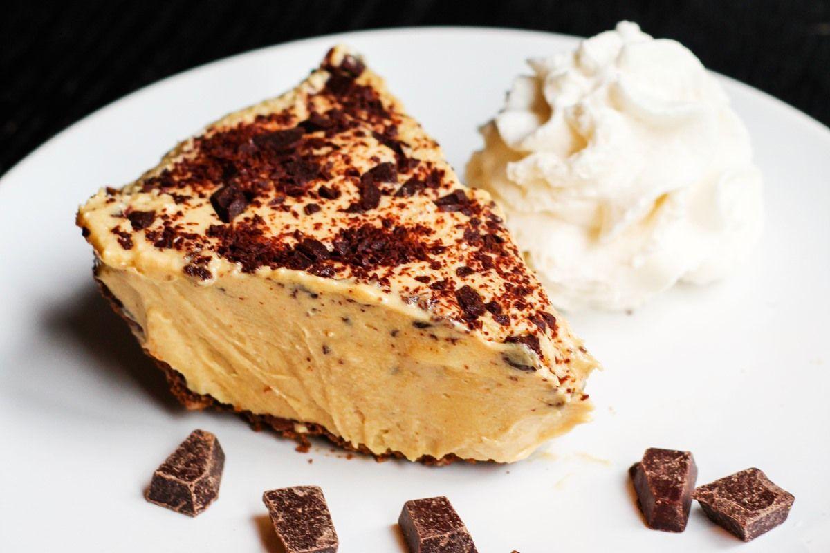 Vegan Peanut Butter Chocolate Pie #dairyfreesmoothie Vegan Peanut Butter Chocolate Pie Recipe (Dairy-Free & Egg-Free) #dairyfreesmoothie