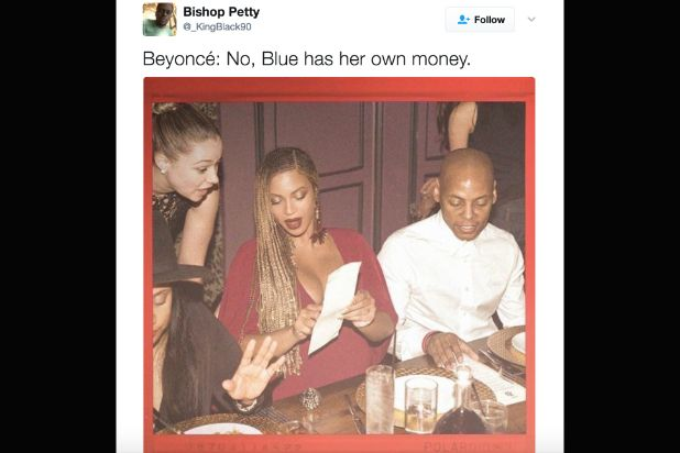 The internet turned Queen Bey into a meme once footage of her doing something extraordinary leaked -- she was ordering food off a menu.