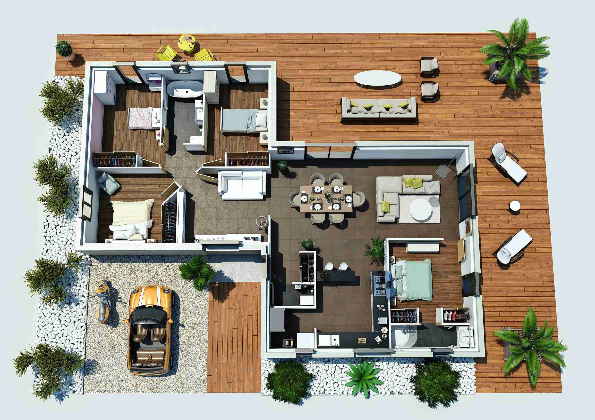 Beautiful Sims 4 Plan Maison | Plan maison, Maison sims ...