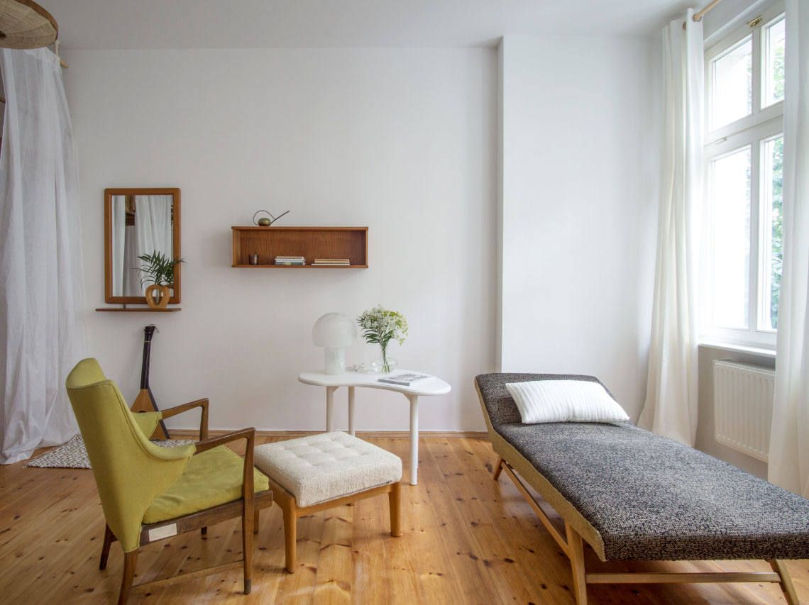 A Modest, Mostly Vintage Rental in Berlin by Quiet Studios ...