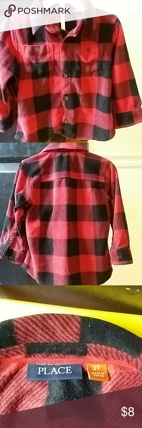 Cute Flannel Shirt 100 Polyester Shirt In Polyester