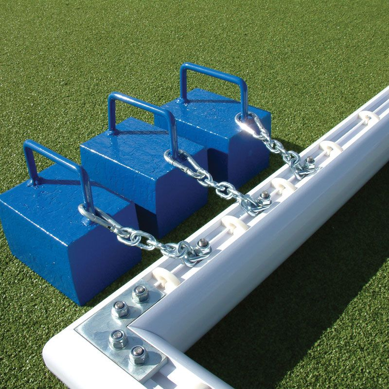 Classic fiveaside anchor Football goal post, Sides