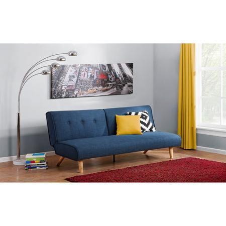 Novogratz Palm Springs Futon Multiple Colors Walmart Com Futon Decor Futon Living Room Futon