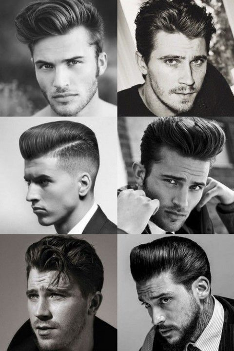 1950s Hairstyles For Men 1950s Hairstyles 50er Jahre Frisur 50er Frisur Frisuren Langhaar