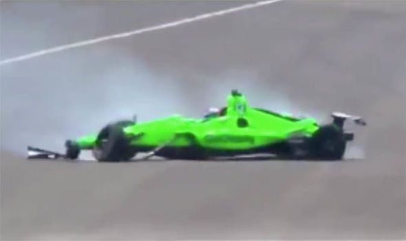 Indy 500: Danica Patrick CRASHES out in final race of her career WATCH