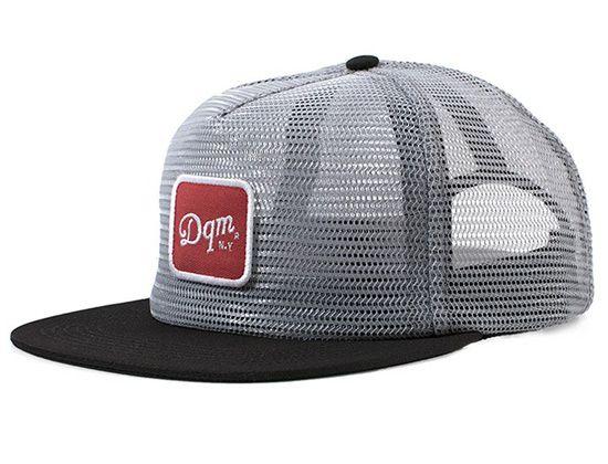Dearborn Full Mesh Crown Snapback Cap by DQM Custom Caps 7b1e99c217d