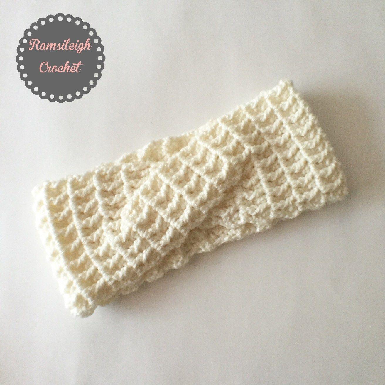 Twisted Headband {Free Pattern}   EAR WARMERS   Pinterest   Croché ...