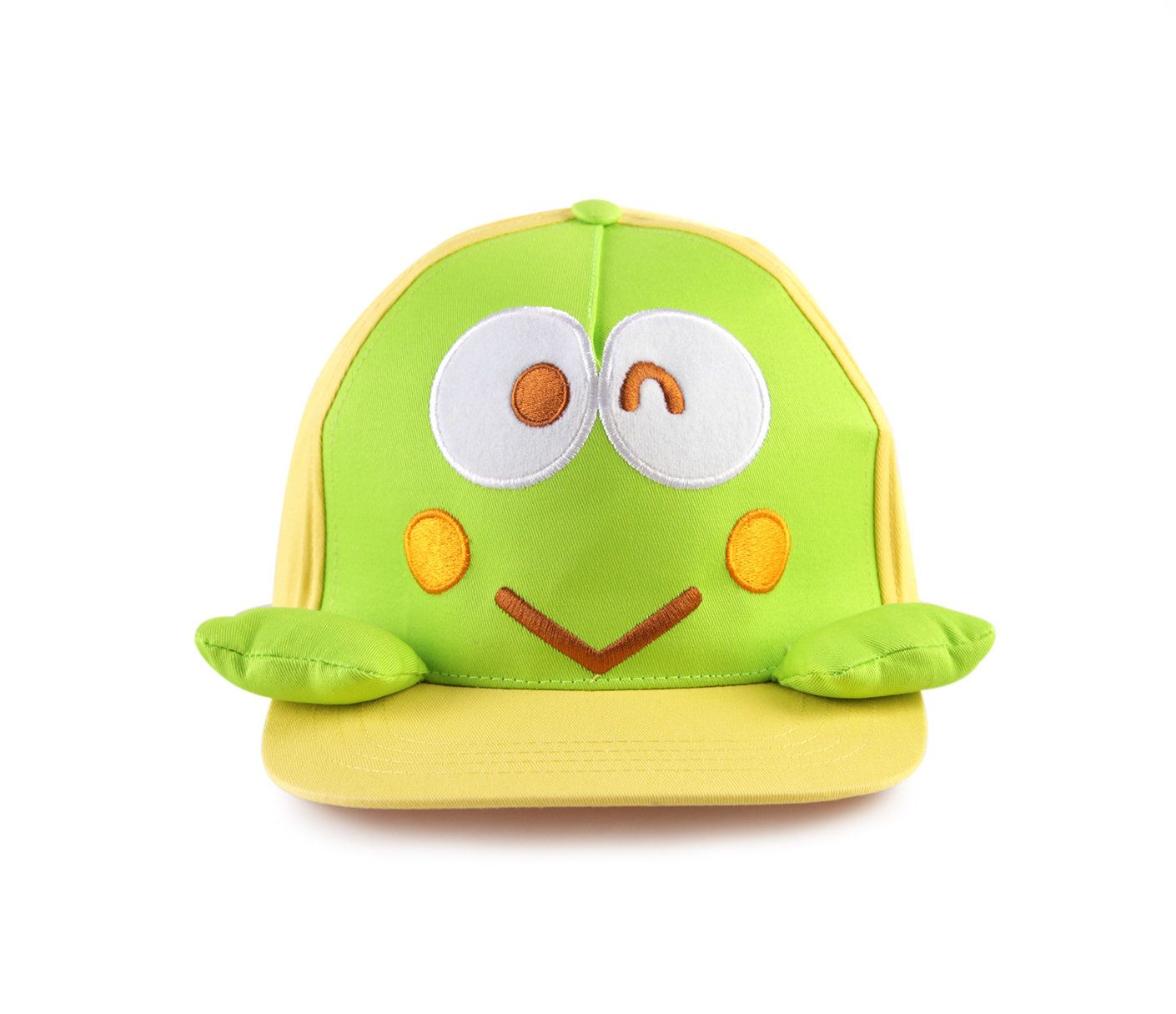 One side hairstyle boy round face keroppi kidus cap face  hats  pinterest  sanrio characters cap