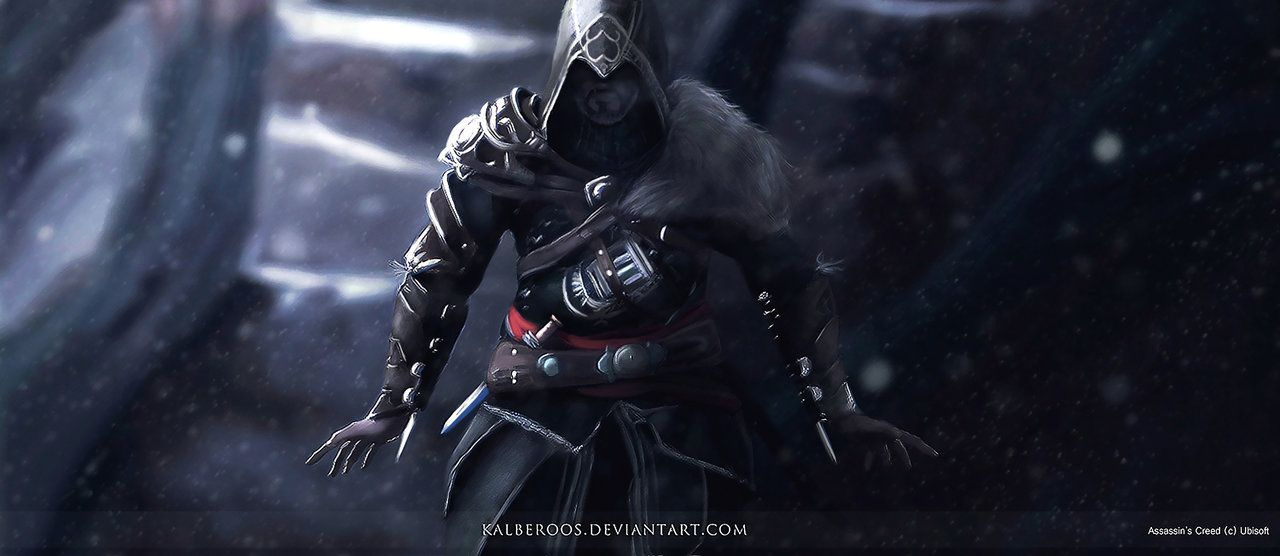 Fan Art Old Ezio Ac Revelations I Can Not Wait Continuation Of The