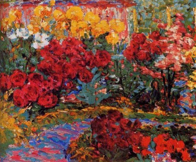 Los colores de las flores y el jardín de Emil Nolde en Seebüll | El ...