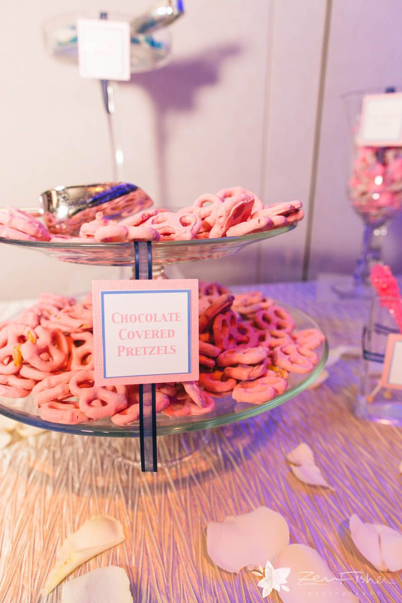 Chocolate Covered Pretzels. Candy Bar   State Room: A LONGWOOD Venue ...