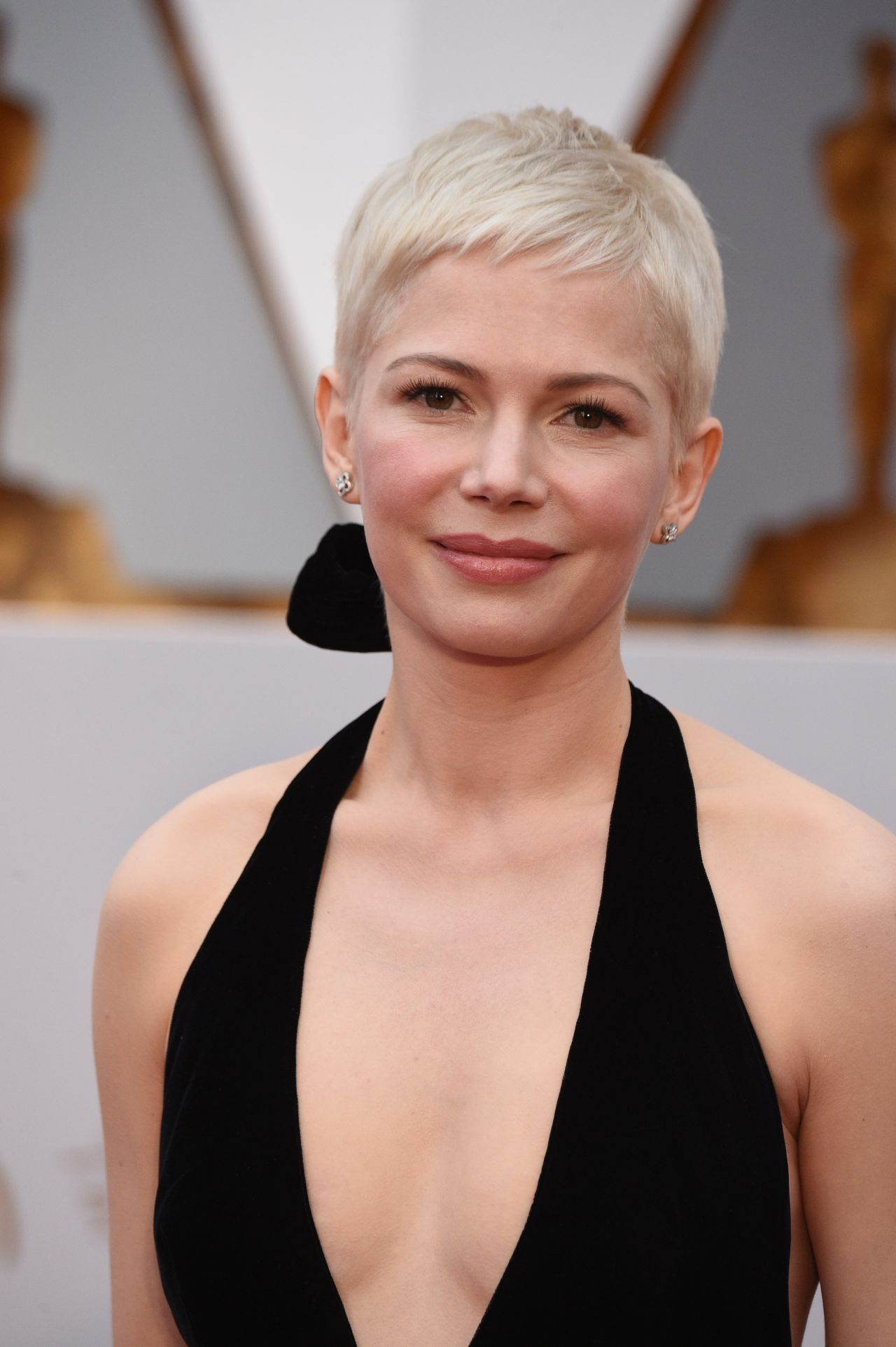 Michelle Williams In Louis Vuitton At  Academy Awards In Hollywood