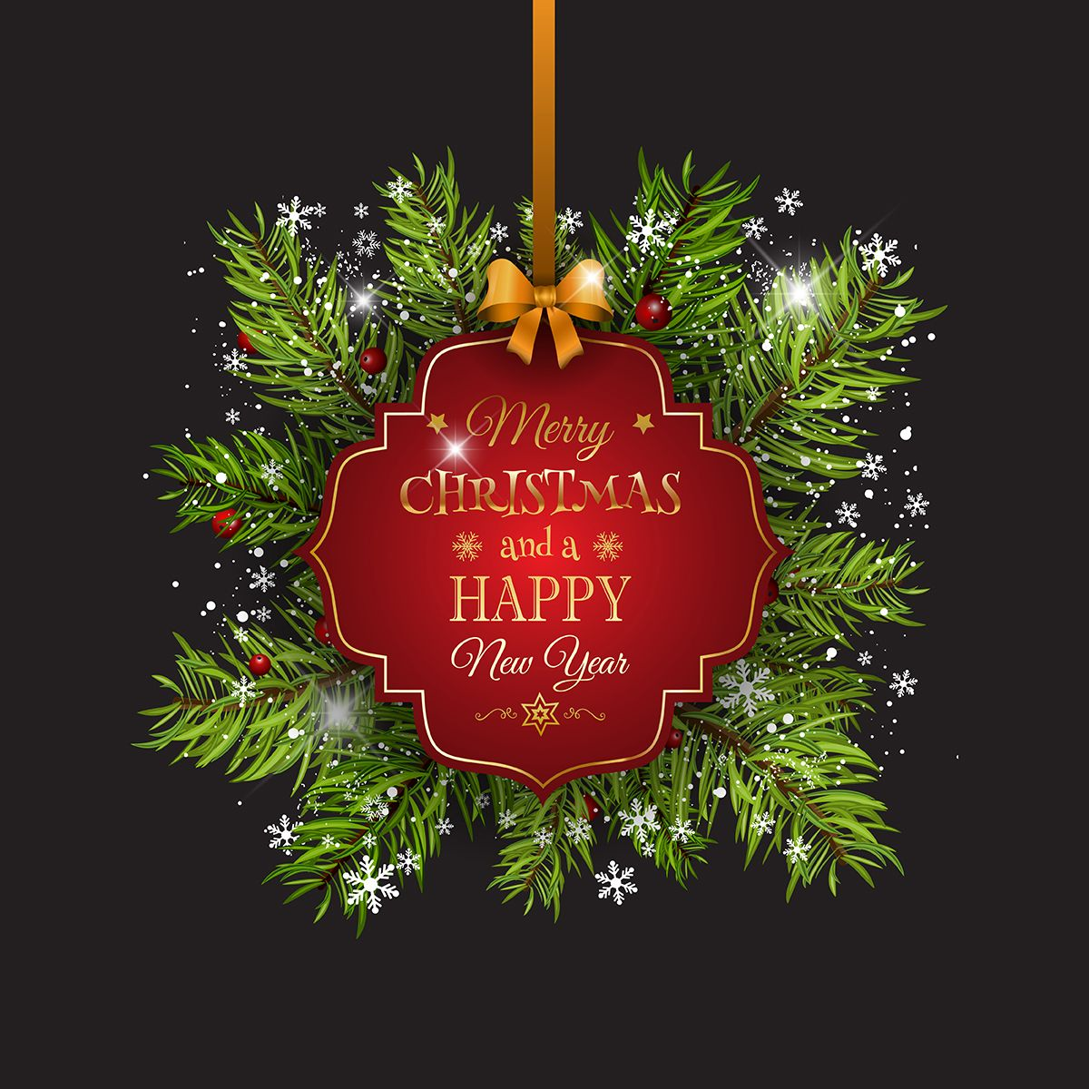Merry Christmas And Happy New Year 2018 Merry Christmas