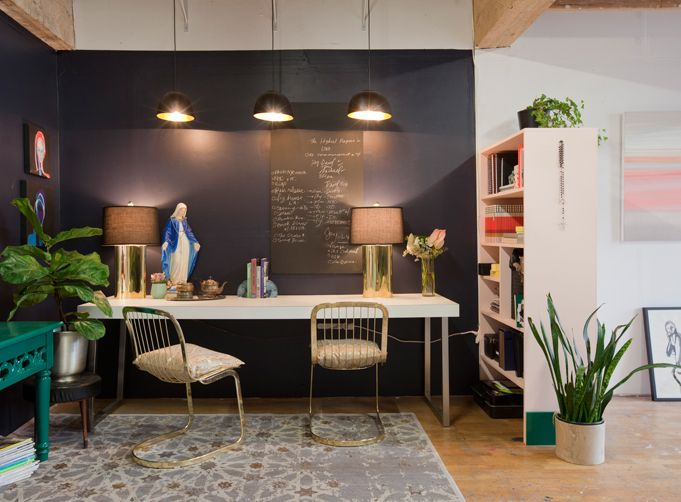 Use Shelving to Separate your Space | Rue