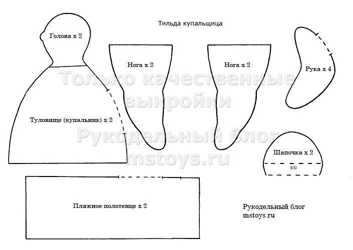 Vyikroyka-Tilda-kupalshhitsa.jpg 705×500 Pixel