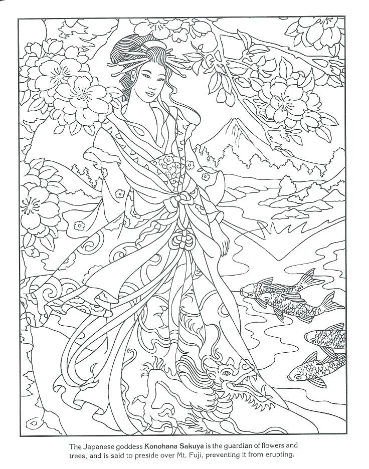 japan coloring page house coloring page ancient japan