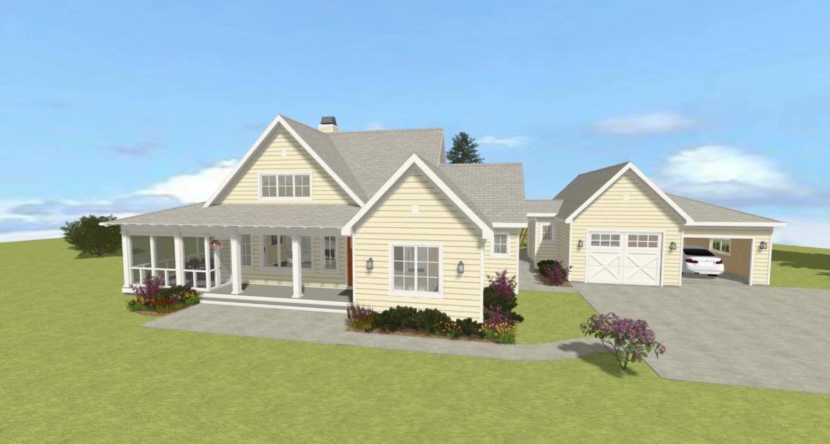 Plan 28925jj Exclusive Flexible Modern Farmhouse Plan