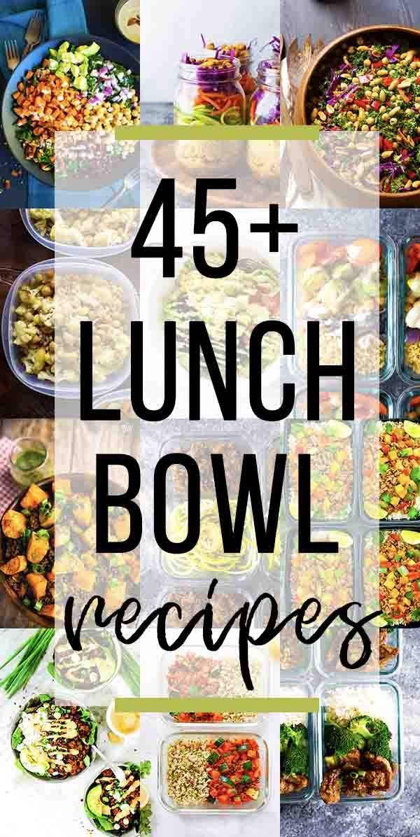 45+ Healthy Make Ahead Lunch Bowls images