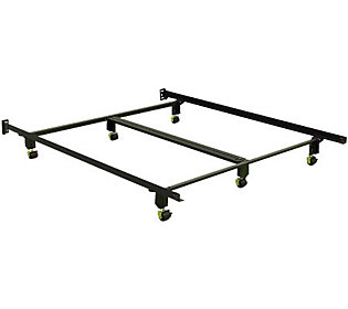 Instamatic Qn Bed Frame W Rug Rollers Locks Amp Center