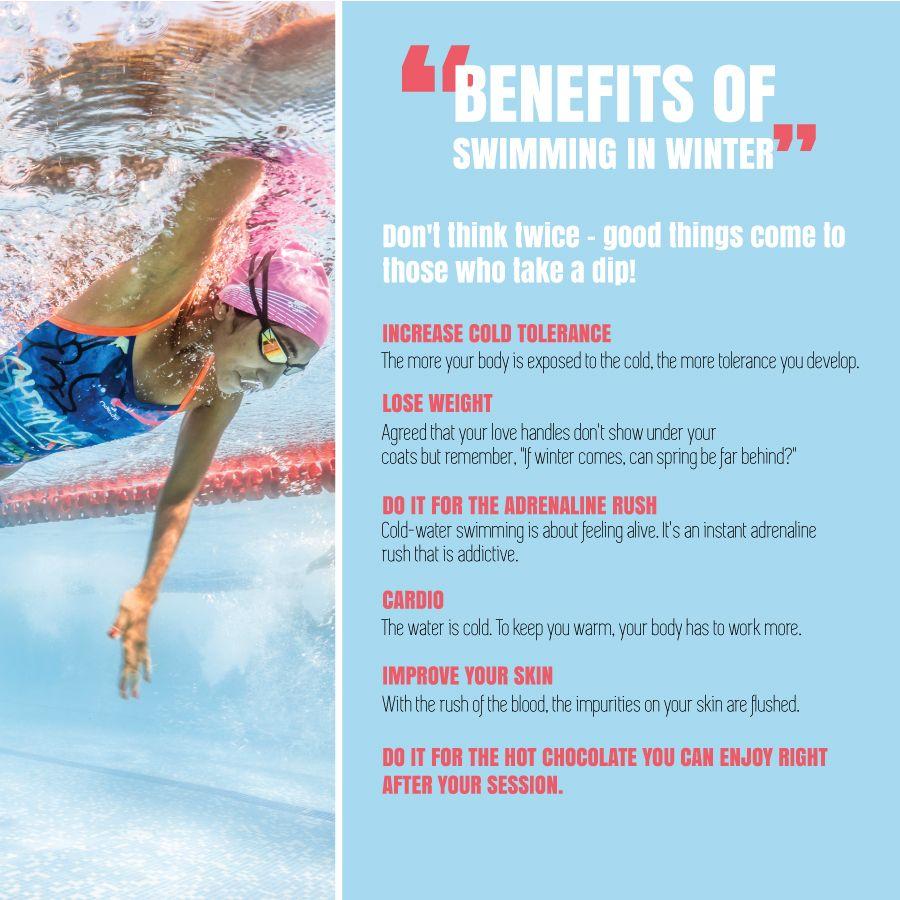 5 surprising benefits of indoor swimming in winters