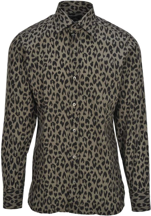 0a6ccedae8e1 Tom Ford Leo Shirt in 2019 | Products | Printed shirts, Shirts, Tom ford