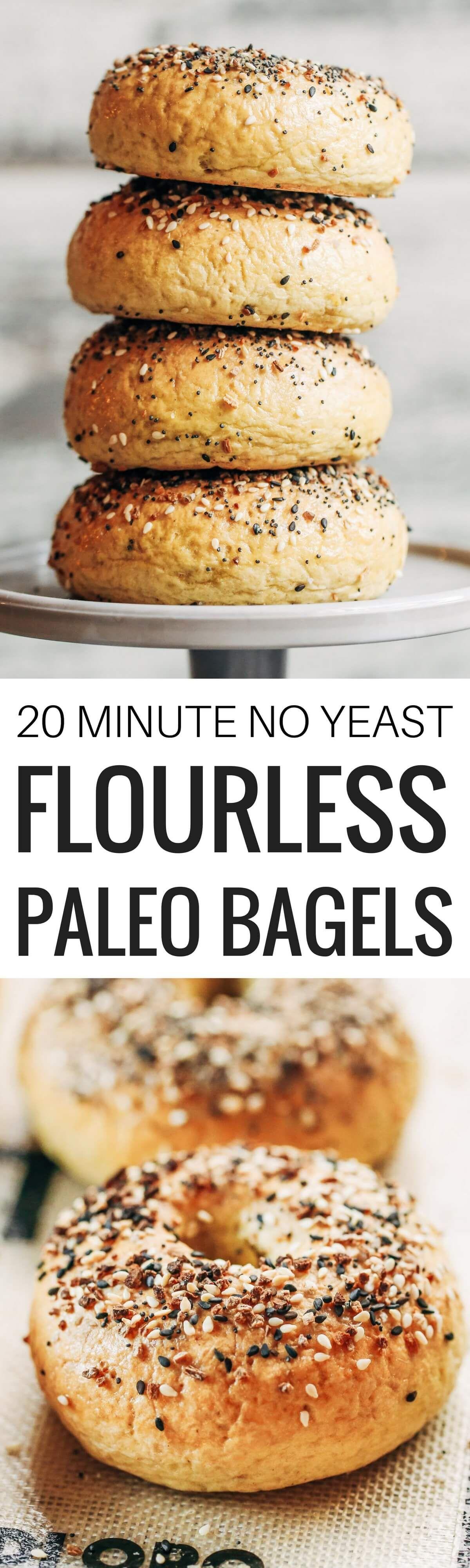 Paleo Bagels Recipe Bagel recipe, Allergy free recipes