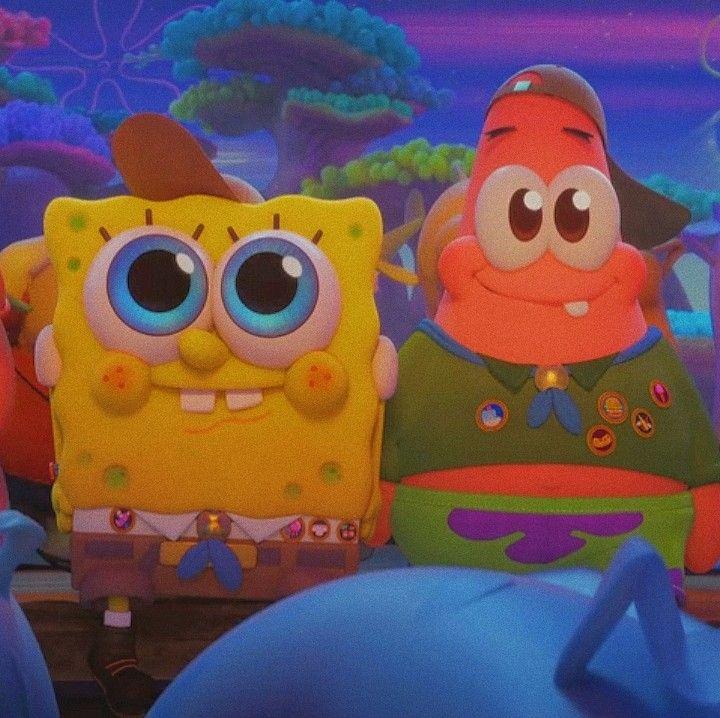 spongebob and patrick aesthetic